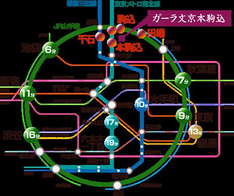 山手 線 路線 図
